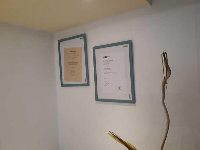 Auszeichnungen Simone Hundepraxis